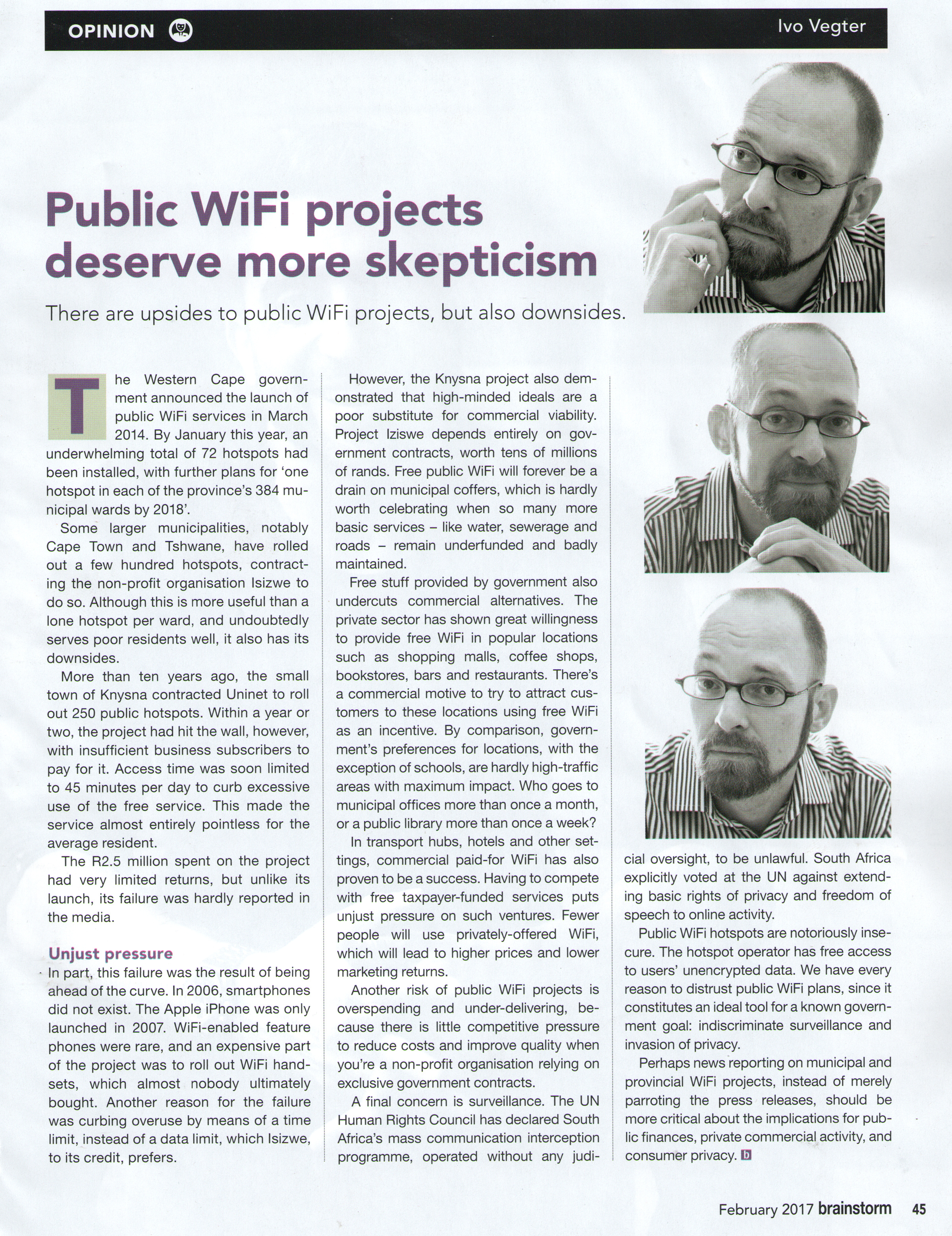 Public WiFi (Brainstorm Feb 2017)