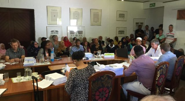 Constantiaberg residents comment on by-law