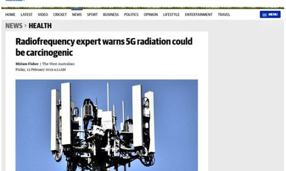 The West Australian: Leszczynski warns about lack of research on 5G safety