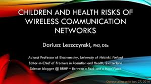 Children & Health Risks of Wireless Communication